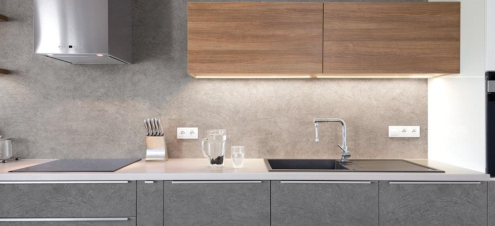 keuken wrappen plakfolie beton