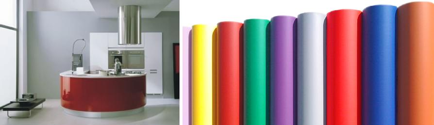 Plakfolie effen kleuren