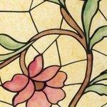 raamfolie bloem 90cm