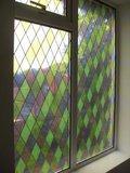 Raamfolie Diamant glas in lood voor HR++ glas (61cm)_