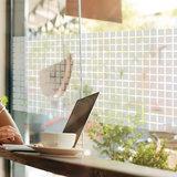 Raamfolie beton wit voor HR++ glas (62cm)_