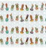 Lineafix statisch raamfolie cactus