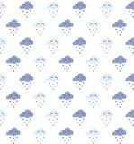 lineafix statisch raamfolie wolkjes blauw