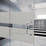 statisch raamfolie badkamer