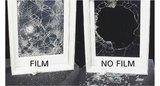 Veiligheidsfolie/spiegelfolie one way (Circa 61cm)  _