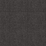 Statisch raamfolie linnenlook zwart (46cm)_
