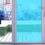 raamfolie gekleurd lichtblauw