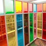 gekleurde ramen folie