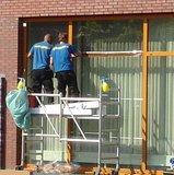 Zonwerend raamfolie voor HR++ glas steel (90cm)_