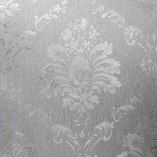 Statisch raamfolie barok bloem