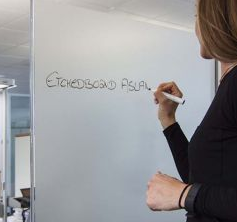 Aslan schrijfbaar raamfolie EBL300 (90 cm breed)