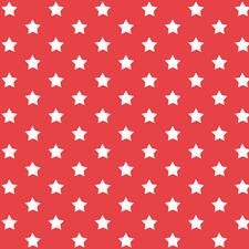 Plakfolie sterren rood