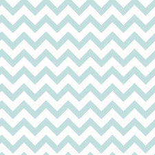 Plakfolie zigzag lichtblauw (45cm)
