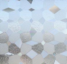 Statisch raamfolie Diamonds (46cm)