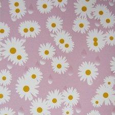 Plakfolie madeliefje roze (45cm)