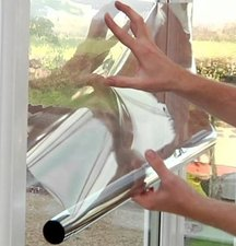 Zonwerend folie spiegelend (50cm)