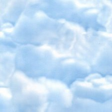 Plakfolie wolken (45cm)