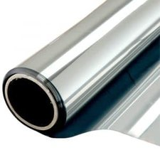 Zonwerend raamfolie voor HR++ glas zilver (140 cm) (Leverbaar eind week 24)