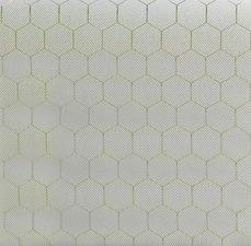 Statisch raamfolie honingraat (46cm)