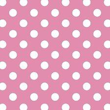Plakfolie polkadot stippen roze
