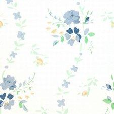 Plakfolie brocant roosje blauw