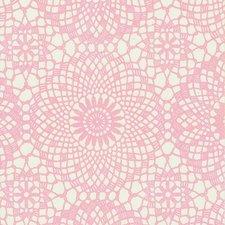 Plakfolie gehaakt patroon roze