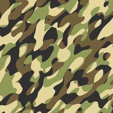 Plakfolie camouflage legergroen