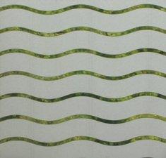 Breed statisch raamfolie wave golven (90cm)