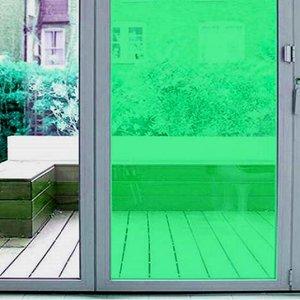 Plakfolie transparant groen (45cm)