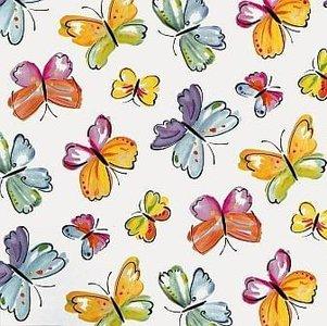 Plakfolie vlinders (45cm)